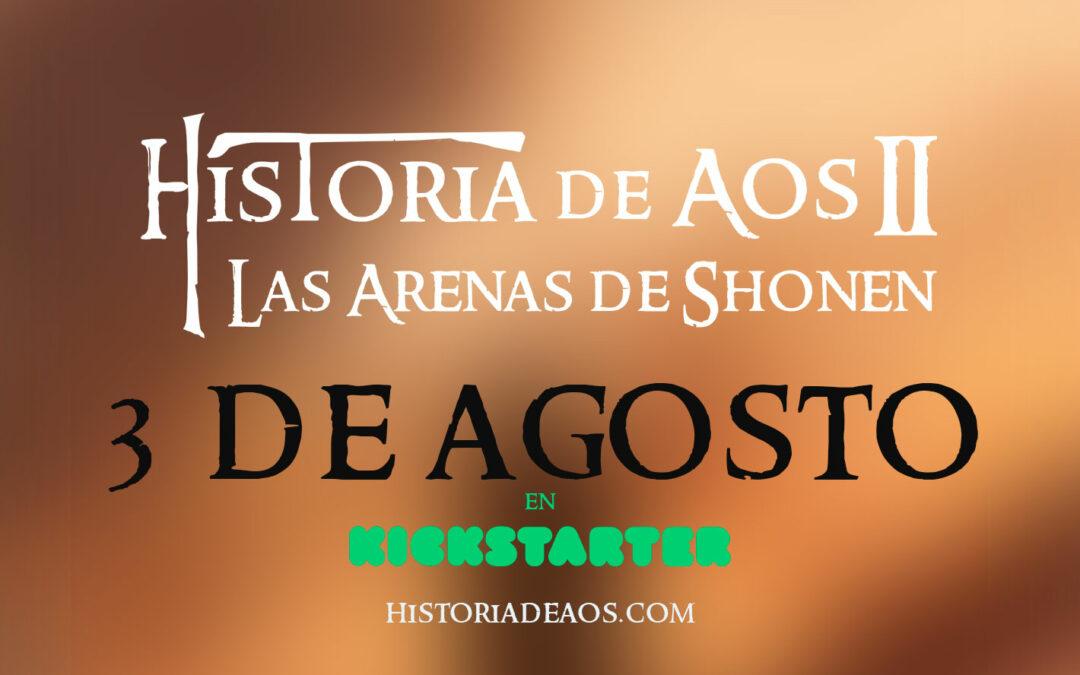 ¡Historia de Aos II. Las Arenas de Shonen!